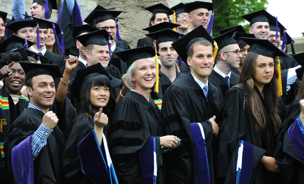 The 200 or so graduates of the University of Connecticut School of Law were urged by a federal appeals court judge to devote at least part of their efforts to public service.