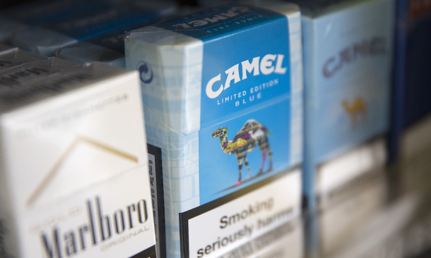 Camel cigarettes are manufactured by Reynolds American Inc.