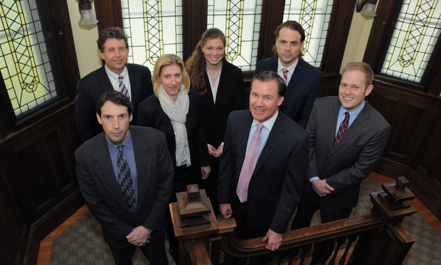 Members of Conway Stoughton litigation team.