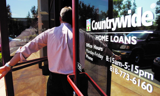 COUNTRYWIDE: Bank of America's liability stemmed from its acquisition of the lender.