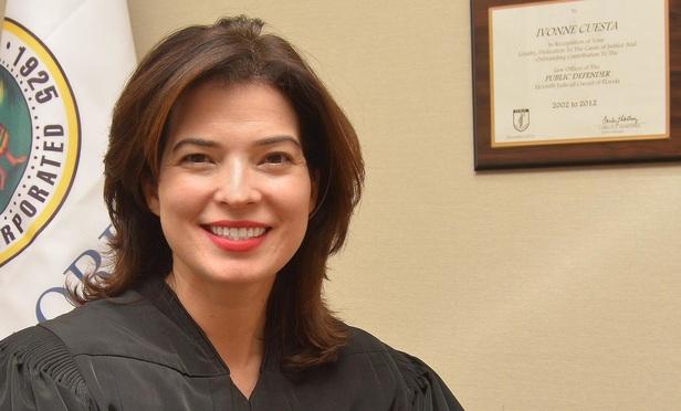 Miami Dade Circuit Judge Ivonne Cuesta