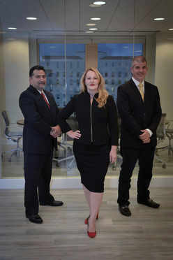 Robert F. Lewis, Marbet Lewis and Alexander R. Fox, of Lewis Fox law firm