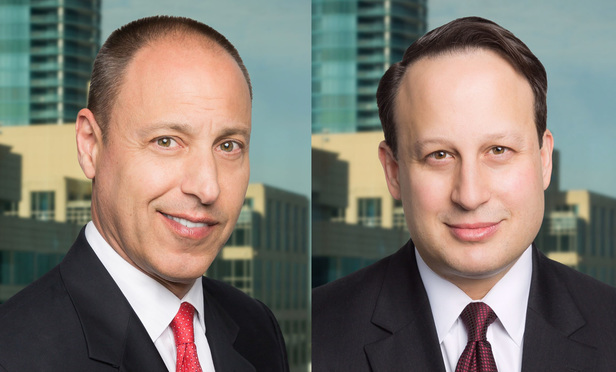 Eric Lundt, left, and Robert Weill, right, of GrayRobinson.