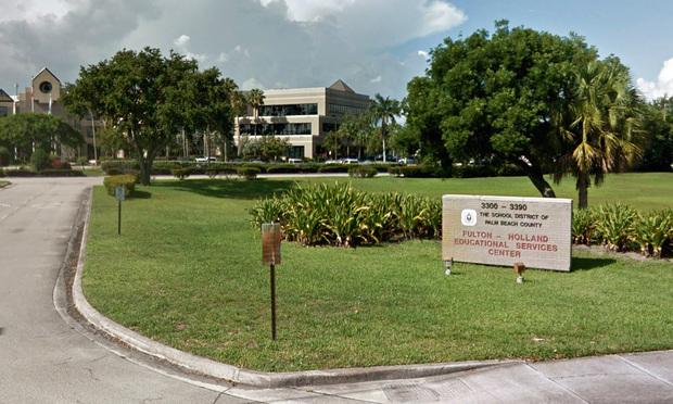 Palm Beach County School District headquarters.