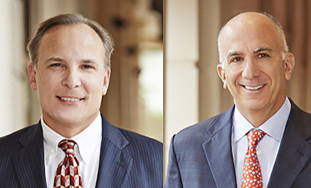 Tucker Ronzetti and Harley Tropin, partners at Kozyak Tropin Throckmorton in Coral Gables, were lead class counsel in the case against Raymond James.