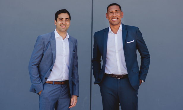 AXS Law partners Anthony Narula, left, and Brandon Rose