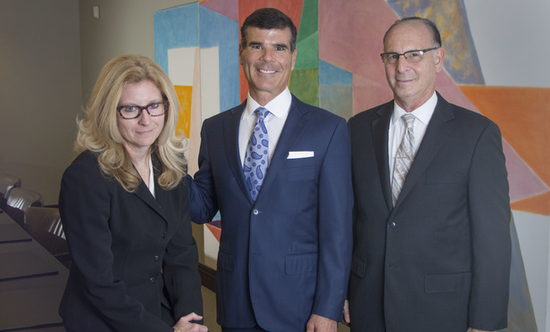 Susan Carlson and Ervin Gonzalez of Colson Hicks Eidson and Barry Snyder of Snyder & Gonzalez