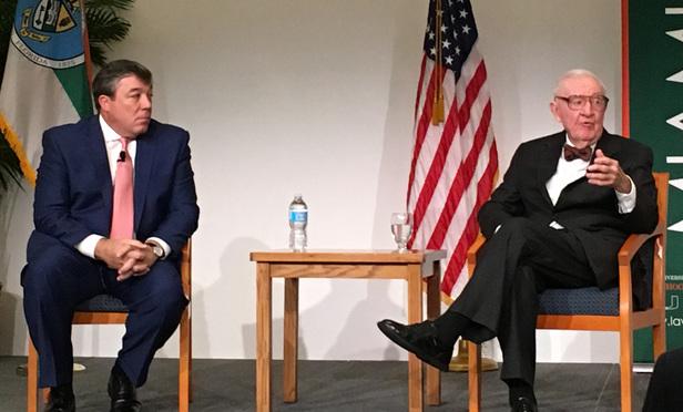 Ex-Justice Stevens Weighs Hazards of On-Campus Speech