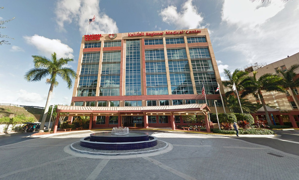 Kendall Regional Medical Center, 11750 SW 40th St, Miami, Florida