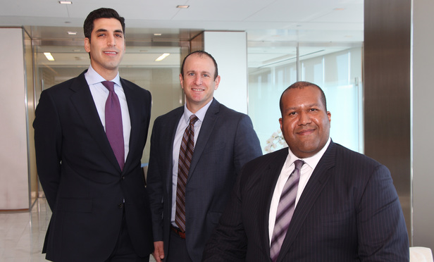 Victor Semah, with Cyxtera Technologies, and Drew Altman and Jaret Davis, with Greenberg Traurig.