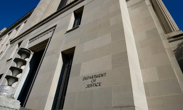 U.S. Department of Justice building in Washington, D.C.