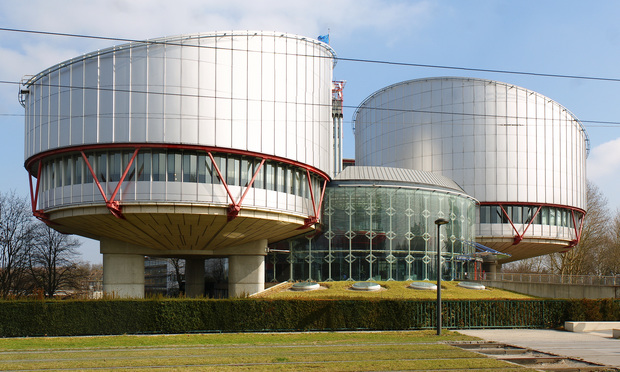 The European Court of Human Rights, located in Strasbourg, France.