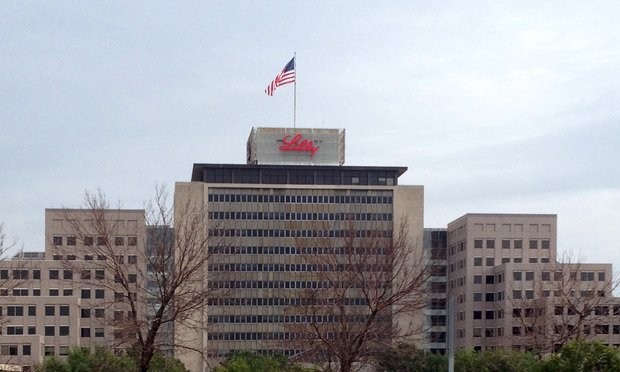 Eli Lilly headquarters located in Indianapolis, Indiana. A