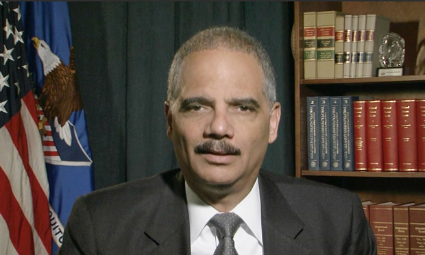 Attorney General Eric Holder Jr. delivers a video message about expanding clemency.