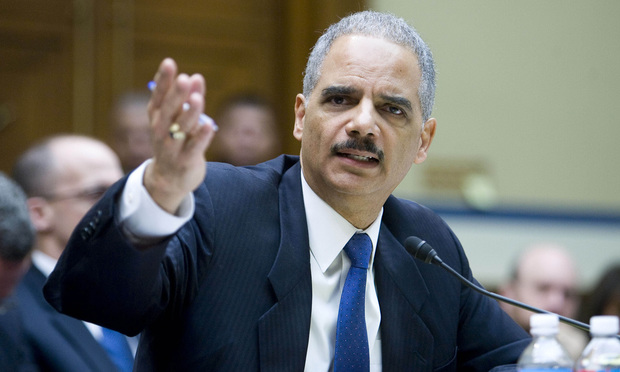 U.S. attorney general Eric Holder, Jr. testifies before the Oversight and Government Reform Committee during a hearing entitled, Fast & Furious: Management Failures at the Department of Justice. February 2, 2012.