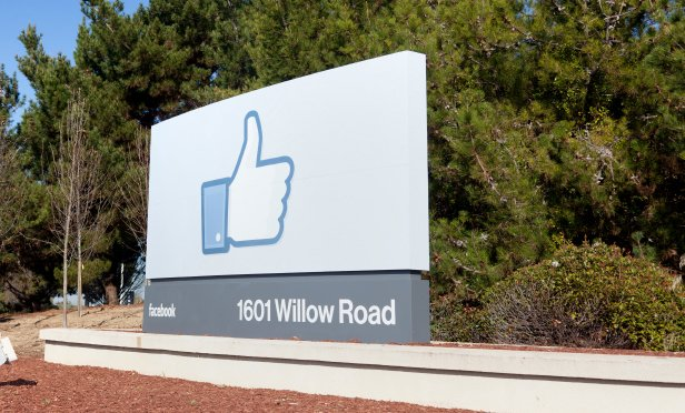 Facebook's campus at 1601 Willow Rd. in Menlo Park, Calif.