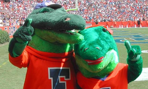 Florida Gators Score Trademark Touchdown