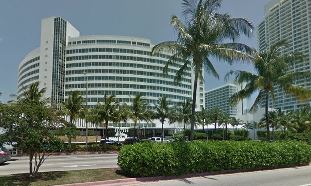 ontainebleau in Miami Beach