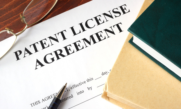 Patent Agreements Stock Art