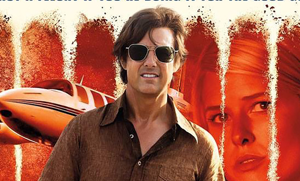 Poster for upcoming Tom Cruise movie Mena aka American Made.