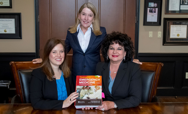 L-R Jessica Edmonds, Katherine McArthur and Tracey Dellacona.