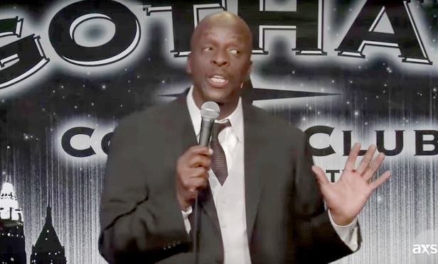 Comedian Terry Hodges.