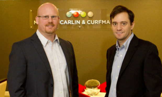 L-R Jason Huff and Chris Glass, Meunier Carlin & Curfman, Atlanta
