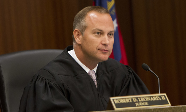 Judge Robert D. Leonard II