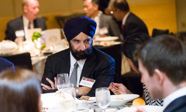 Drew & Napier partner Davinder Singh, who picked up the award for best disputes lawyer in the region