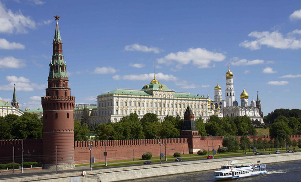 Kremlin complex in Moscow