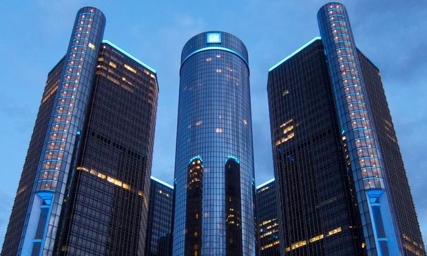 GM Report Critical of Legal Dept., Recommends Changes