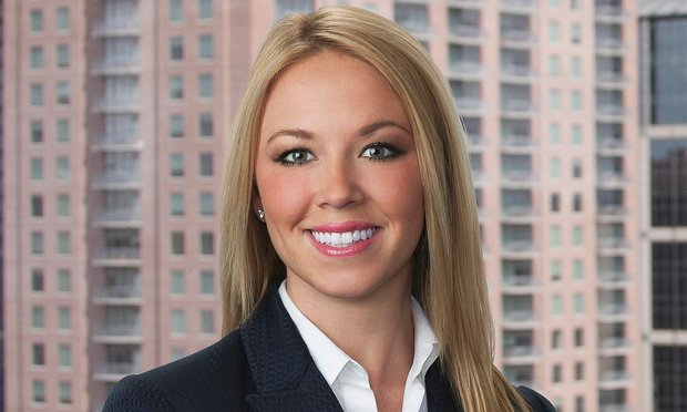 Claire E. B. Garza, an attorney in Kelley Kronenberg's Houston office