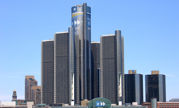 General Motors Headquarters in Detorit, MI.