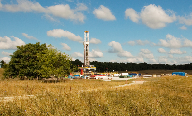 Capstone Drill Site in Ohio, June 2012.