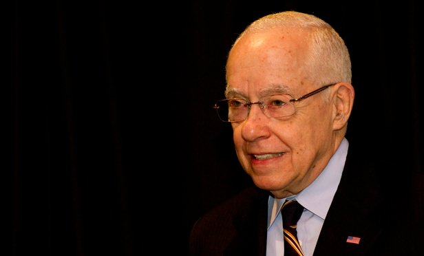 Michael Mukasey, U.S. attorney general from 2007 to 2009, spoke at Alston & Bird on Thursday.