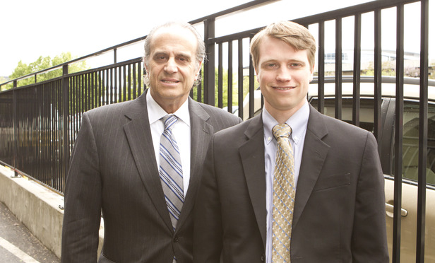 Howard Weintraub, left, and Ben Alper represented a former assistant magistrate judge.