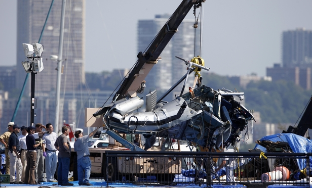 HUDSON CRASH: The pilot's widow recovered $14.2 million—the largest individual payout.