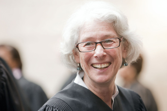Retired D.C. Superior Court magistrate judge Joan Goldfrank
