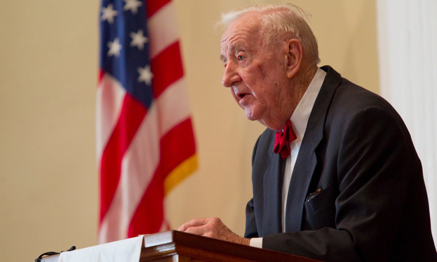 Retired Justice John Paul Stevens
