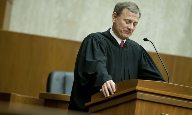 John Roberts Jr., Chief Justice of the U.S. Supreme Court