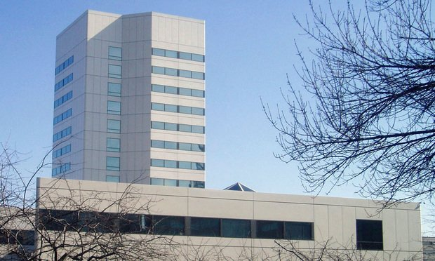 Johnson & Johnson Headquarters in New Brunswick, New Jersey.