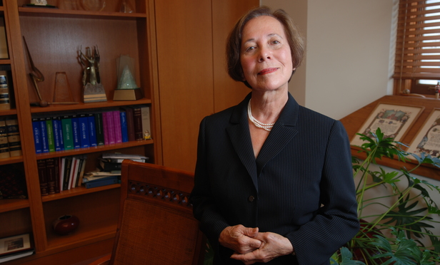 Justice Joyce Kennard of the California Supreme Court..Photo By Hillary Jones-Mixon.8/08/2011.055-2011