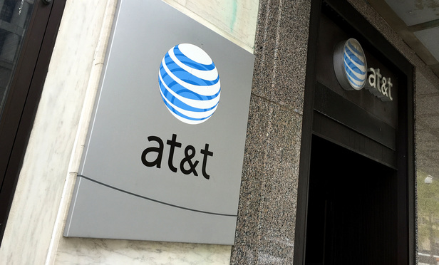 AT&T. Washington, D.C. November 11, 2014. Photo by Diego M. Radzinschi/THE NATIONAL LAW JOURNAL.