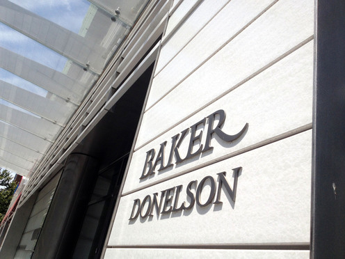 Baker Donelson law firm in Washington, D.C. July 18, 2014. Photo by Diego M. Radzinschi/THE NATIONAL LAW JOURNAL.