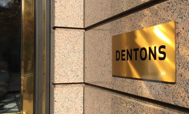 Dentons Washington, D.C. offices. November 12, 2014. Photo by Diego M. Radzinschi/THE NATIONAL LAW JOURNAL.