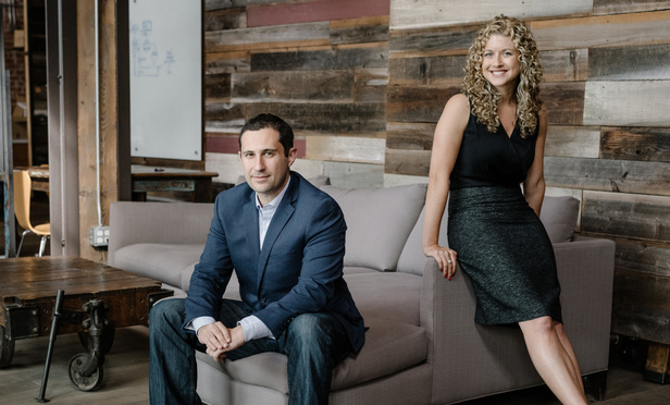 L-R Jake Heller, Founder and CEO and Laura Safdie, COO and General Counsel, Casetext.