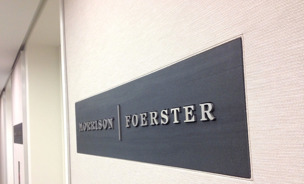 Morrison & Foerster's Washington, D.C. offices. July 23, 2014. Photo by Diego M. Radzinschi/THE NATIONAL LAW JOURNAL.