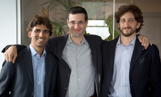 Sanjay Singh, Laurent Wiesel, Matteo Balzarini – the team behind Justly.