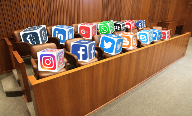 should you facebook the jury yes no probably legaltech news