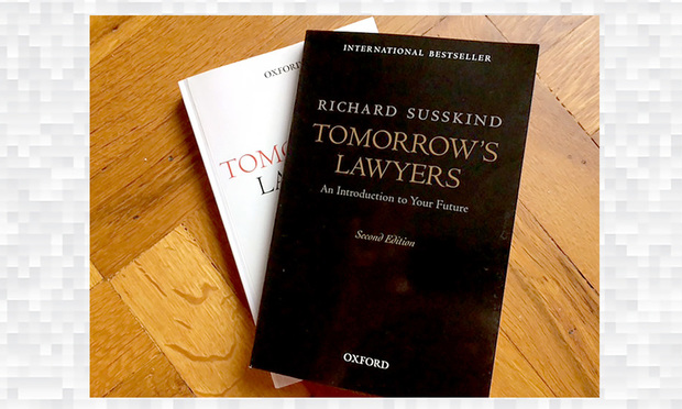 Tomorrow's Lawyers, book by Richard Susskind.